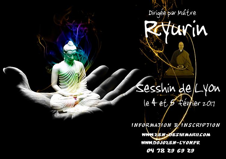 Sesshin Lyon 2017